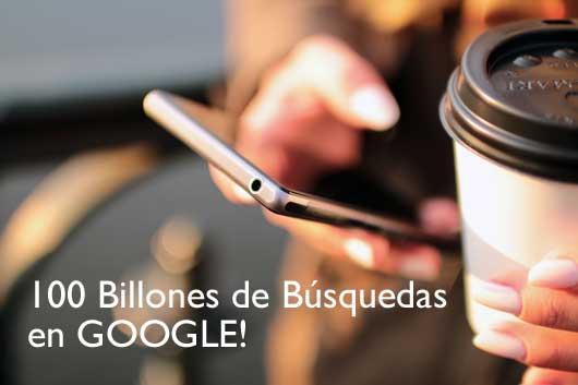 la mitad de busquedas en google a traves de moviles